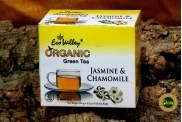 Tè Verde con Gelsomino e Camomilla