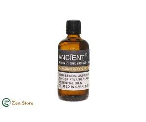 Olio Per massaggi - Riscaldante e Confortante