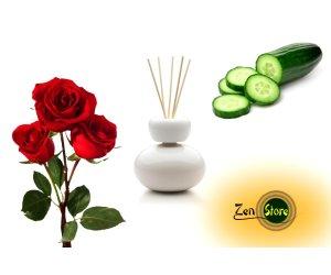 Cetriolo e Rosa Olio Fragranza