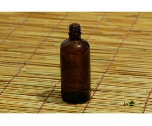 Bottiglietta di vetro ambrato da 100 ml