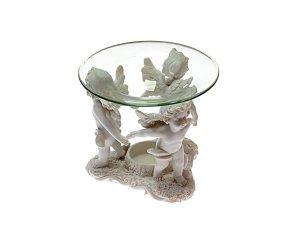 Diffusore In Poliresina - Angeli - Con piattino in vetro