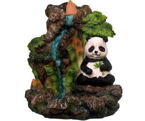 Brucia incenso a riflusso - Panda con bambù