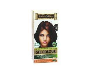 Indus Valley - Gel Colorante Burgundy/Borgogna - Colore 3.6 - Kit Colorante Naturale Per Capelli