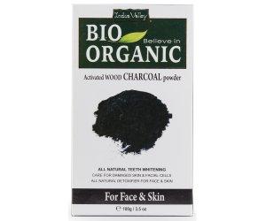 Indus Valley - Carbone Attivo in polvere  - Charcoal - Adsorbente cosmetico - Combatte le imperfezioni