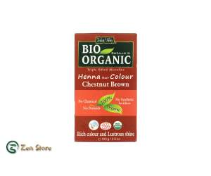 Indus Valley - Castagna - Chestnut - Tinta Biologica Naturale - Henna Hair Colour - Polvere Ultrafine