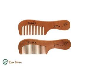 Pettine in Legno di Sandalo - Districa i capelli - Antistatico