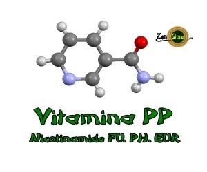 Niacinamide, Vitamina PP o Nicotinamide
