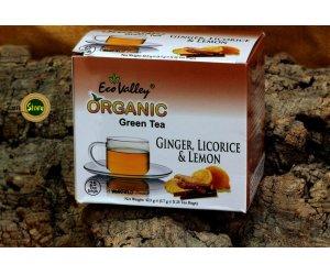 Tè Verde  Zenzero Liquirizia Limone