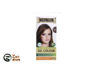 Indus Valley - Gel Colorante Biondo Medio - Medium Blonde - Colore 7.0 - Kit Colorante Naturale Per Capelli