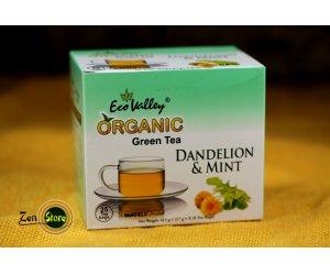 Tè verde Biologico con Tarassaco e Menta