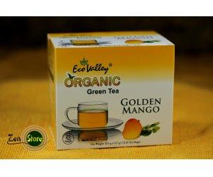 Tè verde Biologico con Golden Mango