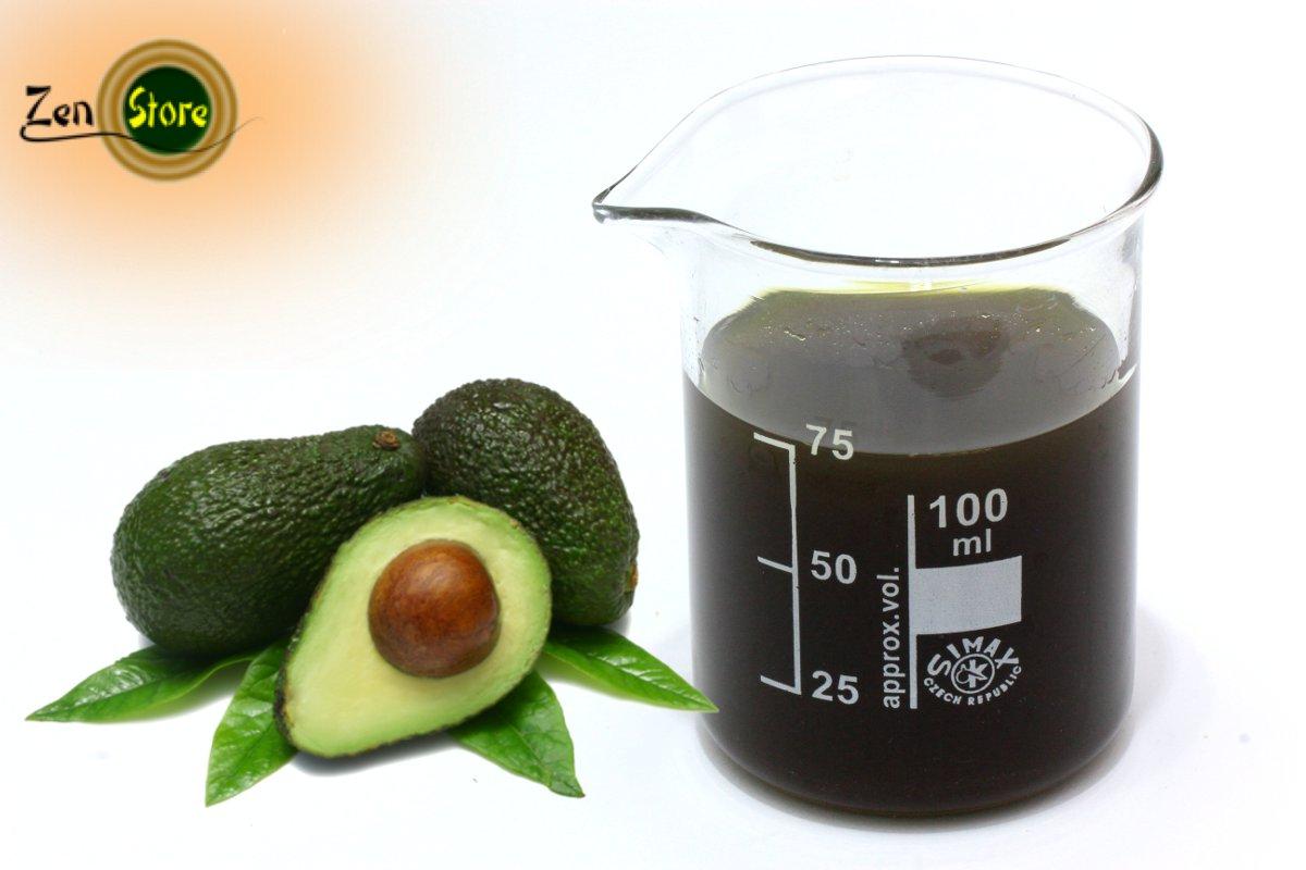 Nocciolo Di Avocado In Acqua olio di avocado biologico (non raffinato)